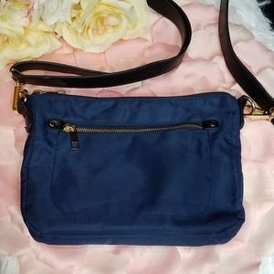 A NEW DAY navy blue crossbody bag. Used once.